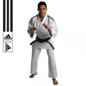 Adidas Judopak J350 wit-zwart
