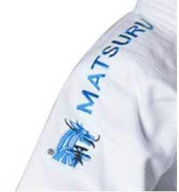 Matsuru Judopak Semi Wedstrijd met blauwe schouderlabel
