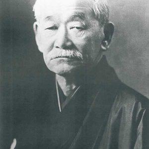 Nihon poster Jigoro Kano zwart-wit