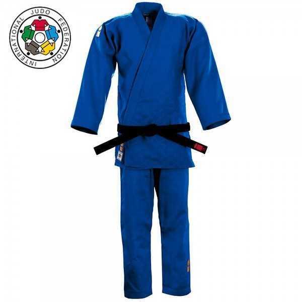 Essimo Judopak IJF Approved Gold 2015 slim fit - blauw