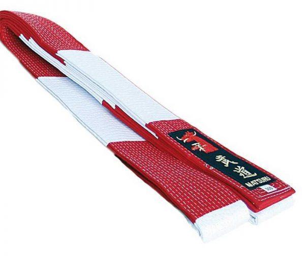 Matsuru rood-wit geblokte band