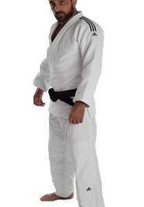 Adidas Judopak Champion II IJF wit