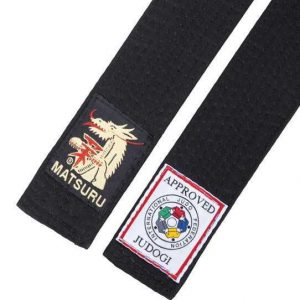 Matsuru IJF approved zwarte judoband