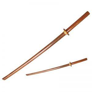 Matsuru wapen Boken hout bruin zwart wit