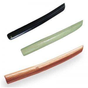 Nihon wapen Tanto hout bruin zwart wit