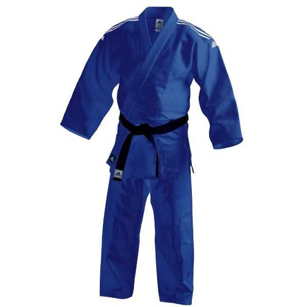 Adidas Judopak J350 blauw