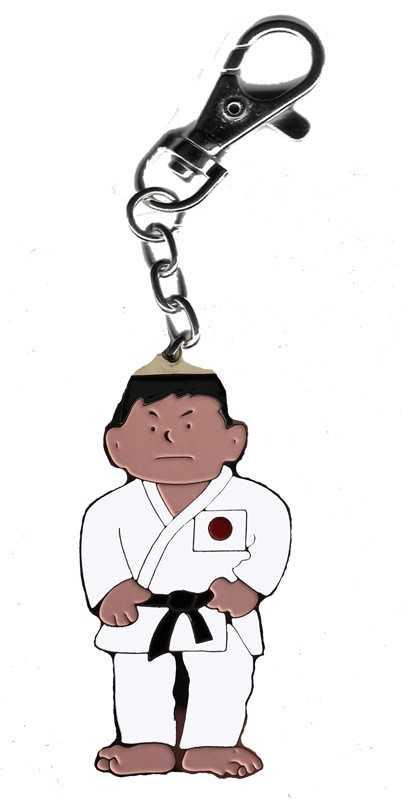 Sleutelhanger judoka
