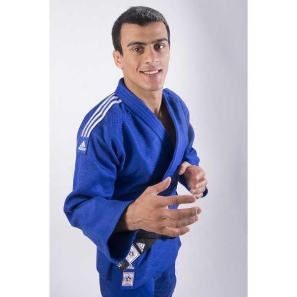 Adidas Gi Champion II IJF Slimfit Blue